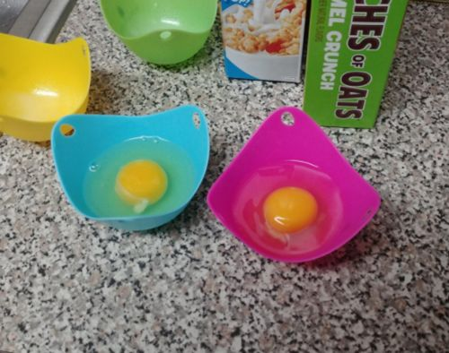 Silicone Egg Poacher (Set of 4 PCS) - eraivy photo review