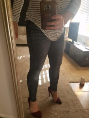 Perfect Fit Jeans Leggings - octms photo review