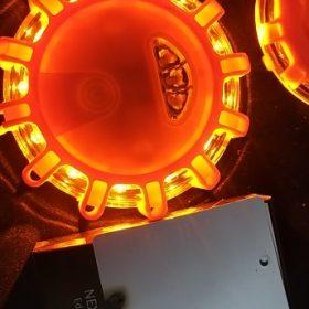 LED Road Flares Flashing Warning Light photo review
