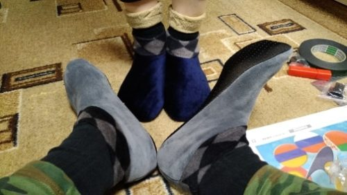Indoor Non-slip Thermal Socks - conoreal photo review
