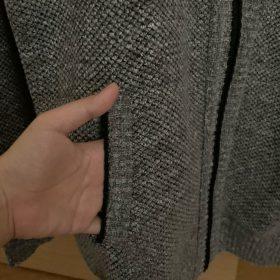 Men's Fleece Stand Collar Sweater photo review