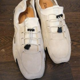 Men's Handmade Soft Driving Loafers Shoes photo review