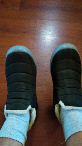 Women&Men Winter Snow Boots Waterproof&Comfortable photo review