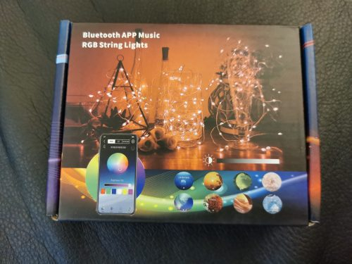 LEDBASE Smart Christmas Lights photo review