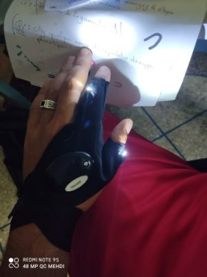 LED Gloves with Waterproof Lights photo review