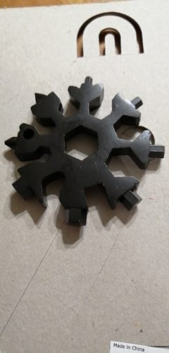 18-in-1 stainless steel snowflakes multi-tool photo review