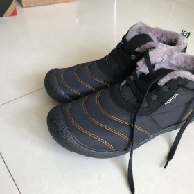 Super Warm Men's Winter Ankle Boots photo review
