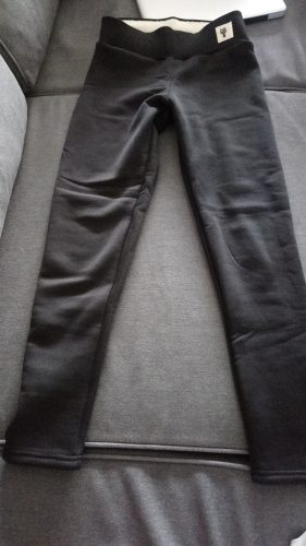 Super Thick Cashmere Wool Leggings photo review