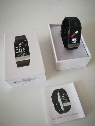 Fitness Activity Tracker Waterproof Smartwatch photo review
