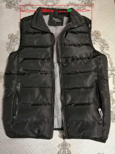 Men's Hacksaw Puffer Vest photo review