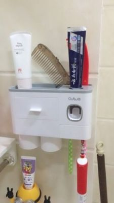 OSWEI Nordic Inspired Multi-Functional Toothbrush Holder photo review