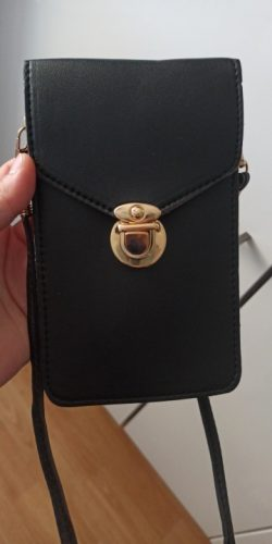 Fancy Touch Screen Waterproof Leather Crossbody Universal Phone Bag - fancyandstyle photo review